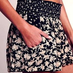 Free People Silver Lace Shorts - original $78